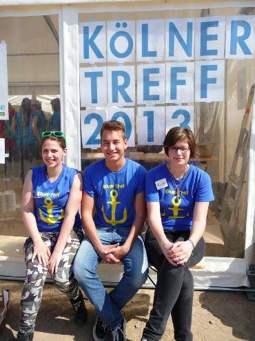 Geselligkeit, Spaß und gute Laune gab es auch im Kölner Treff in Hamburg, zu dem 400 Jugendliche aus Köln und Umgebung gereist waren. Foto: Susanne Hermanns