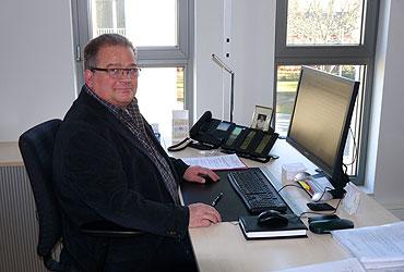 Rolf Hintsch, Geschäftsführer des Verwaltungsverbandes Köln- Süd/Mitte
