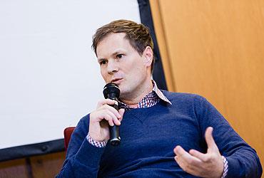 Hans-Peter Killgus, Leiter der Info- und Bildungsstelle gegen Rechtsextremismus im NS-Dokumentationszentrum Köln