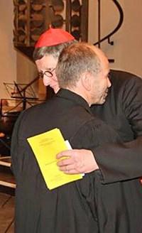 Präses Nikolaus Schneider und Kardinal Joachim Meissner, Foto/Copyright: Ute Glaser