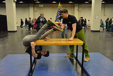 Sportliche Herausforderungen auf der Missionale in der KölnMesse