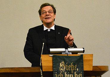 Bischof Dr. Markus Dröge beim Jahresempfang des Evangelischen Kirchenverbandes Köln und Region