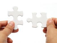 """Freiwillig """"Mensch sein"""" - für Andere und sich selbst: zwei Teile eines Puzzles - spannendes Spiel ohne Verlierer!"""