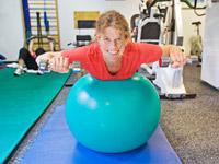 Runder Ball statt runder Rücken - erst der Hexenschuss brachte wieder Spaß in ihr Leben: Wer hätte das gedacht?!