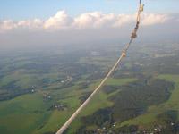 Der Glaube ist wie ein Seil. Doch nicht jenes der Bergsteiger, am Haken gesichert. Sondern eines, vom Himmel geworfen...
