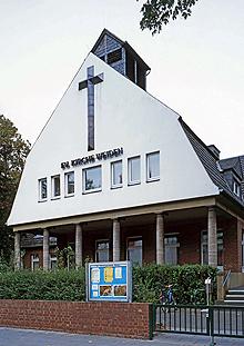 Evangelische Kirche Weiden / Gemeindezentrum Jochen-Klepper-Haus